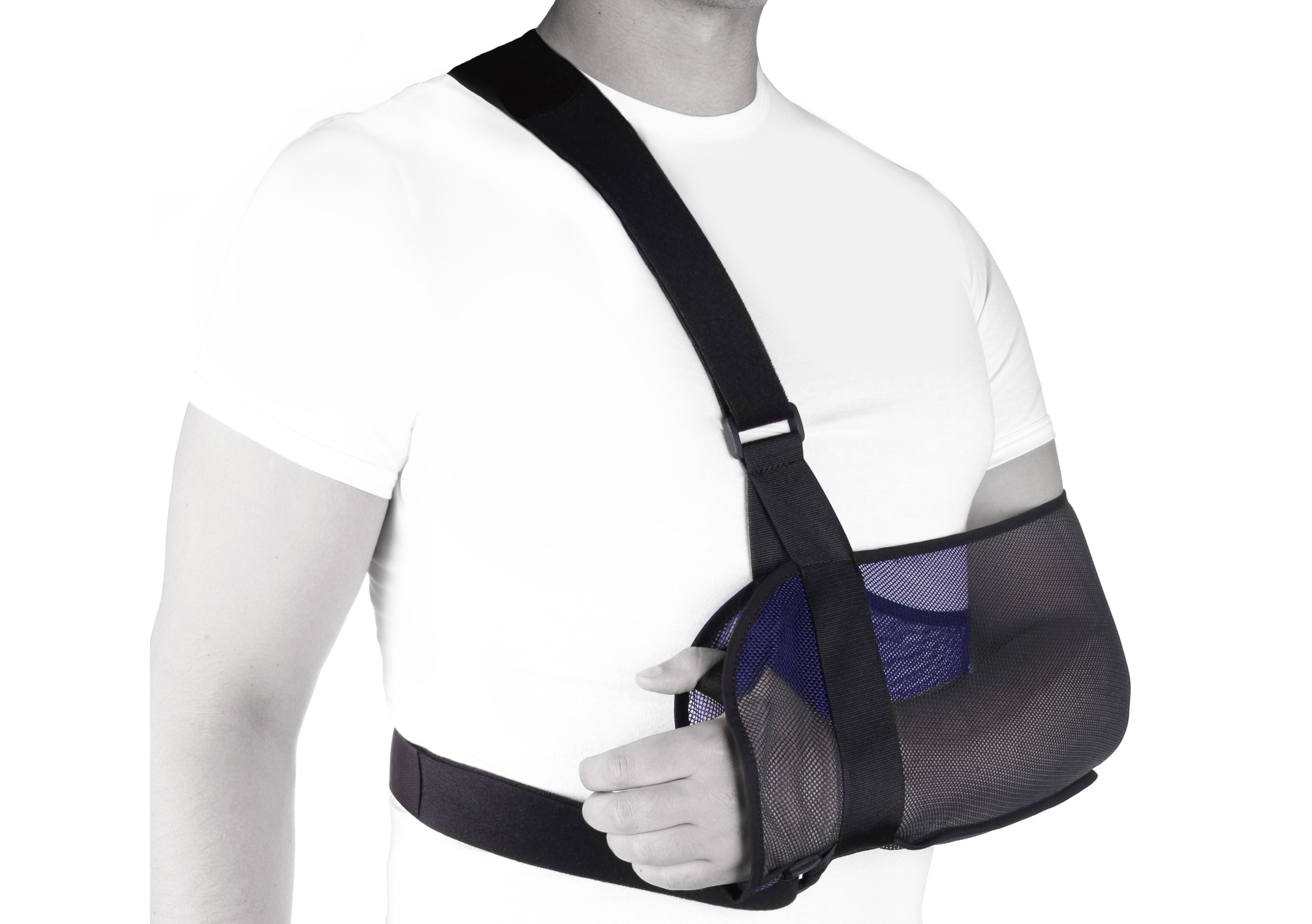 Как сделать косынку на плечевой сустав